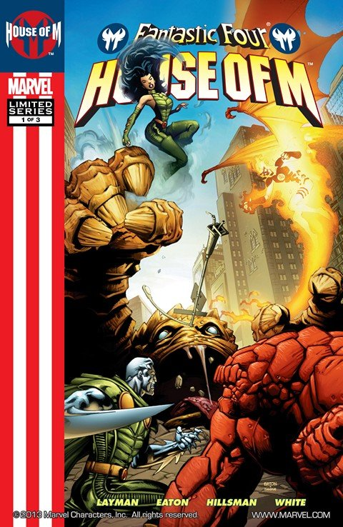 Fantastic Four – House of M #1 – 3 (2005)