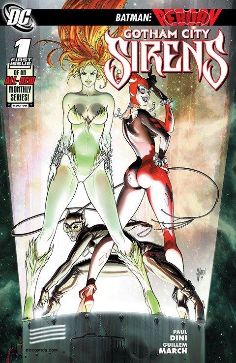 Gotham City Sirens #1 – 26 (2009-2011)