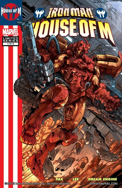 Iron Man – House of M #1 – 3