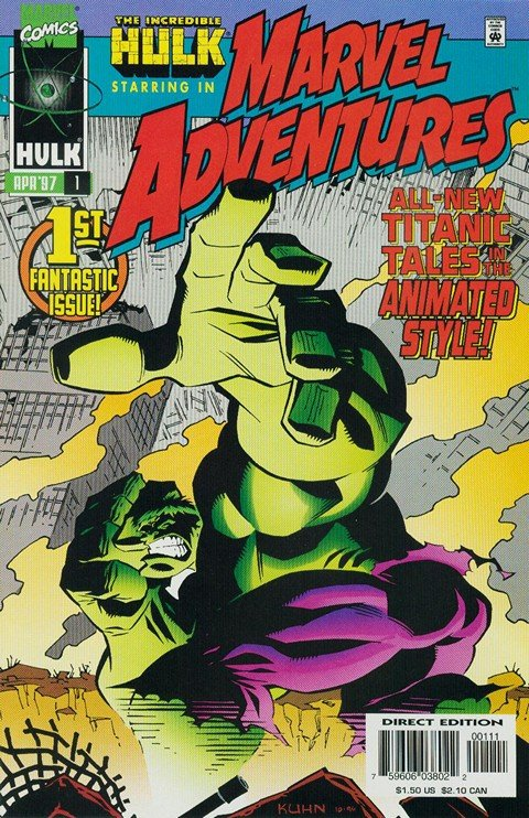 Marvel Adventures Vol. 1 #1 – 18 (1997-1998)