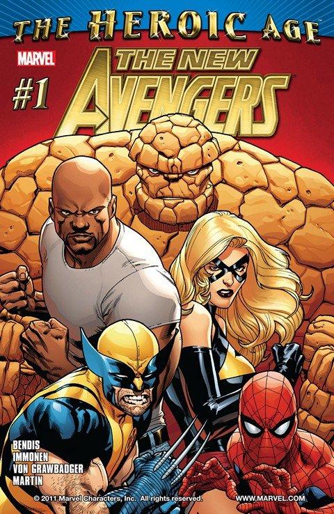 New Avengers Vol. 2 #1 – 34 + Annual + TPBs (2010-2013)