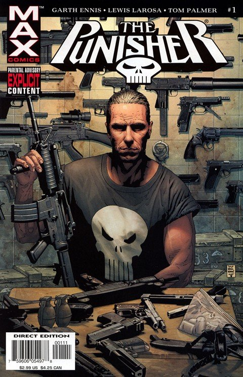 Punisher MAX Vol. 1 #1 – 60 + Extras