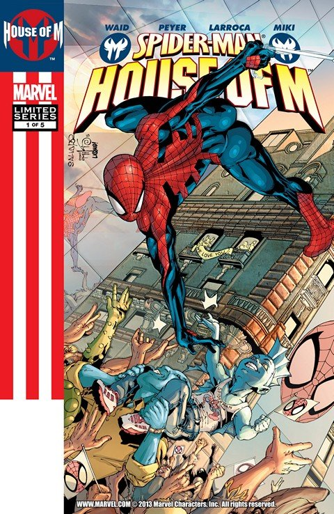 Spider-Man – House of M #1 – 5 (2005)