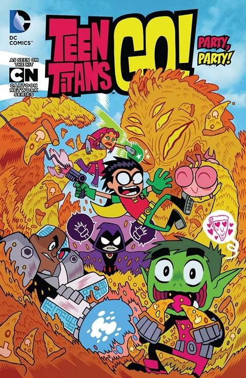 Teen Titans Go! Vol. 1 – 5 (TPB) (2015-2018)