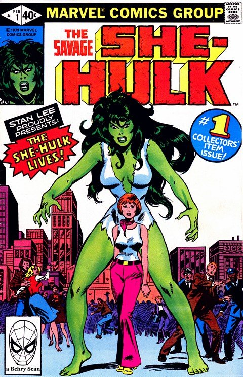 The Savage She-Hulk Vol. 1 #1 – 25