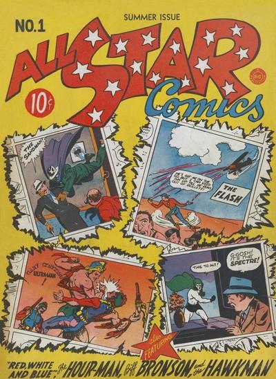 All-Star Comics #1 – 74 (1940-1978)