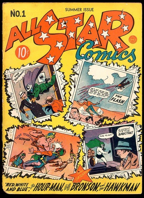 All-Star Comics #1 – 74 (1940-1978)