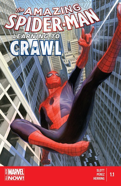 Amazing Spider-Man – Learning to Crawl