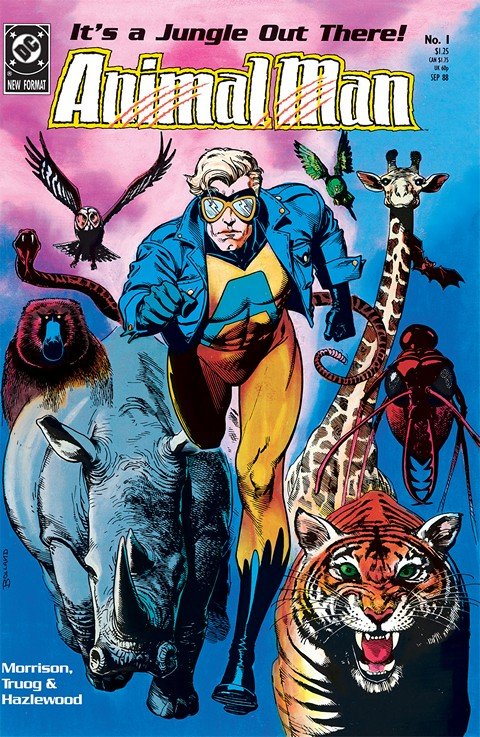 Animal Man #1 – 89