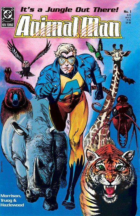 Animal Man #1 – 89 (1988-1995)