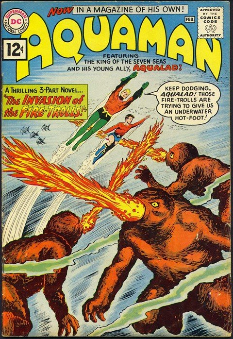 Aquaman (Vol. 1 – 7 + Extras) (Ultimate Collection) (1962-2015)