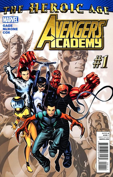 Avengers Academy #1 – 39 + Extras (2010-2012)