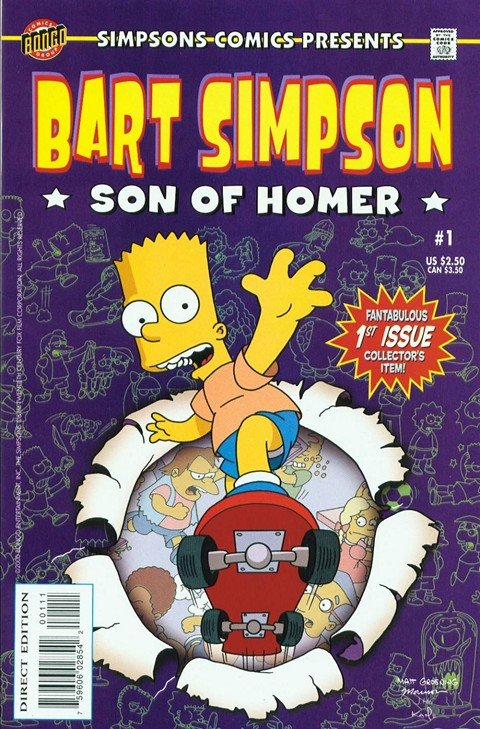 Bart Simpson #1 – 100 (2000-2016)
