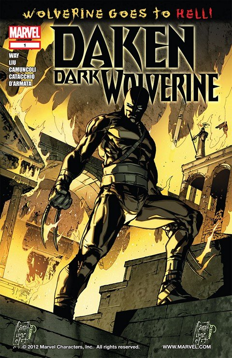 Daken – Dark Wolverine #1 – 23