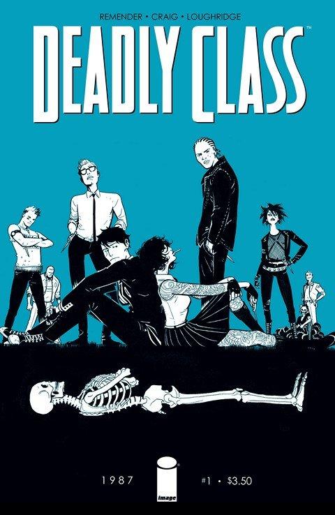 Deadly Class #1 – 37 + TPBs (2014-2019)