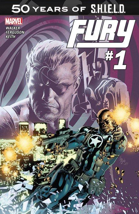 Fury – S.H.I.E.L.D. 50th Anniversary #1