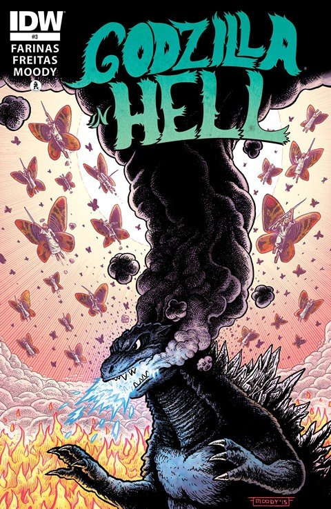Godzilla In Hell #1 – 3