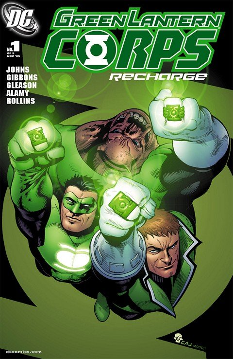 Green Lantern Corps – Recharge #1 – 5 + TPB