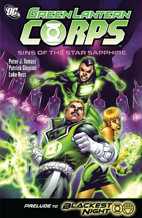 Green Lantern Corps – Sins Of The Star Sapphire (TPB)