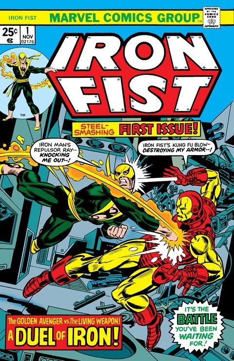 Iron Fist Vol. 1 #1 – 15