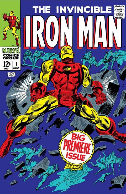 Iron Man Vol. 1 #1 – 332 + Annuals (1968-1996)