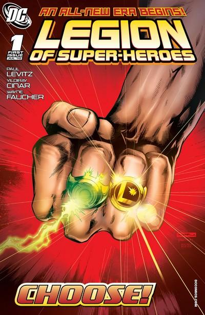 Legion of Super-Heroes Vol. 6 #1 – 16 + Annual (2010-2011)