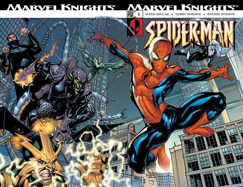 Marvel Knights #1 -22 – Sensational Spider-Man #23 – 41