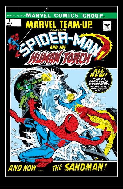 Marvel Team Up Vol. 1 – 4 + Extras (1972-2019)