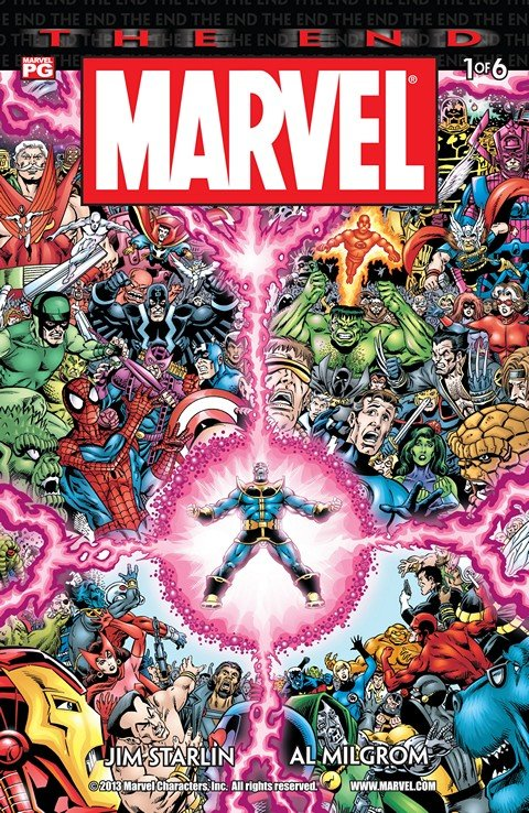 Marvel Universe – The End #1 – 6