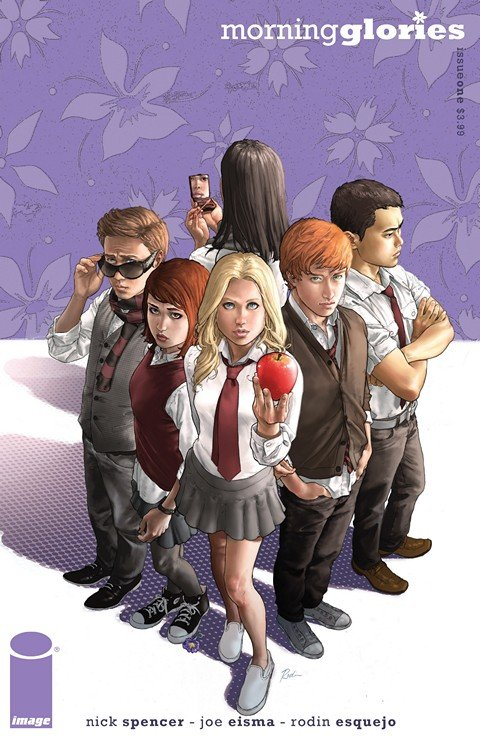 Morning Glories #1 – 50 + TPB #1 – 9 + Extras