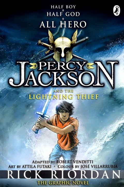Percy Jackson Graphic Novels Pdf