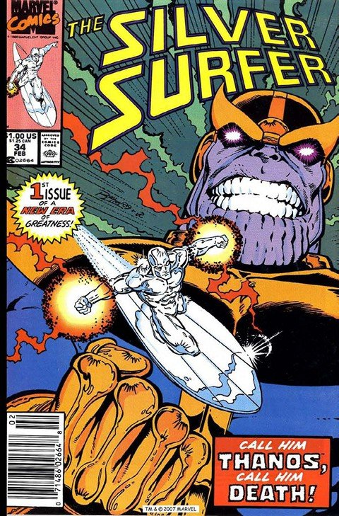 Silver Surfer – Rebirth of Thanos