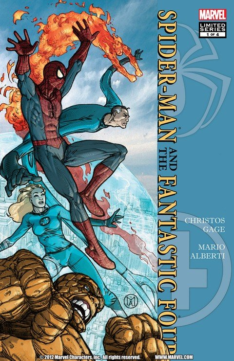 Spider-Man-Fantastic Four #1 – 4