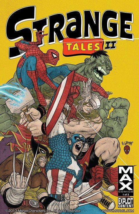 Strange Tales II Vol. 1 #1 – 3