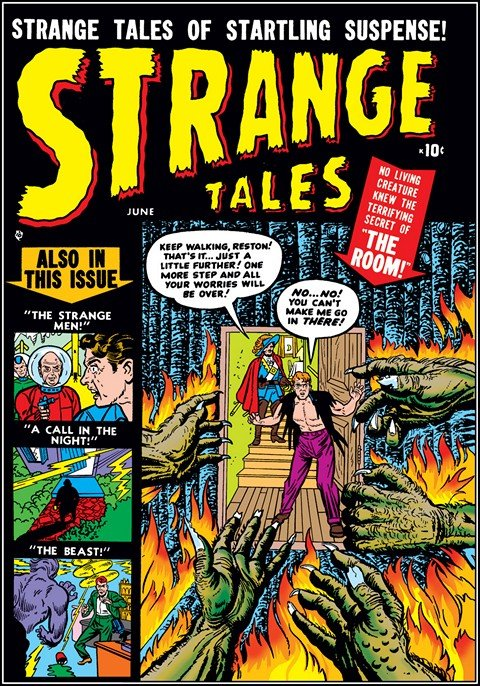 Strange Tales Vol. 1 – 5 (Collection)