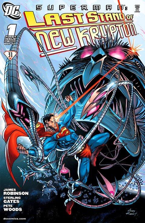 Superman – Last Stand of New Krypton #1 – 3 (2010)
