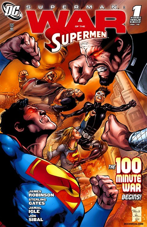 Superman – War of the Supermen #1 – 4 + FCBD #0