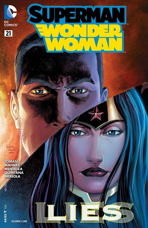 Superman-Wonder Woman #21