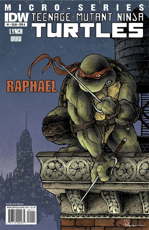 Teenage Mutant Ninja Turtles Micro-Series #1 – 8 (2011-2012)