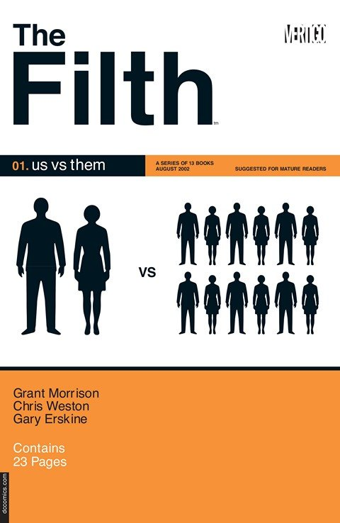 The Filth #1 – 13 (2003-2004)