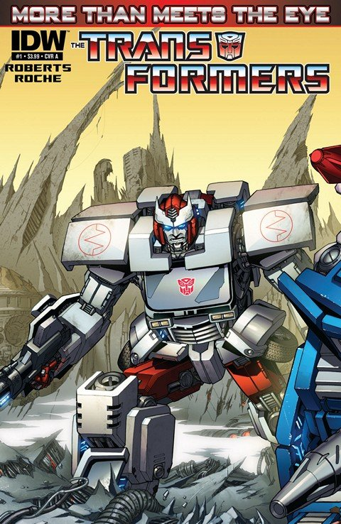 The Transformers – More Than Meets the Eye #1 – 57 + Annual (2012-2016)