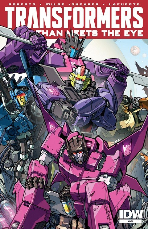 The Transformers – More Than Meets the Eye #45