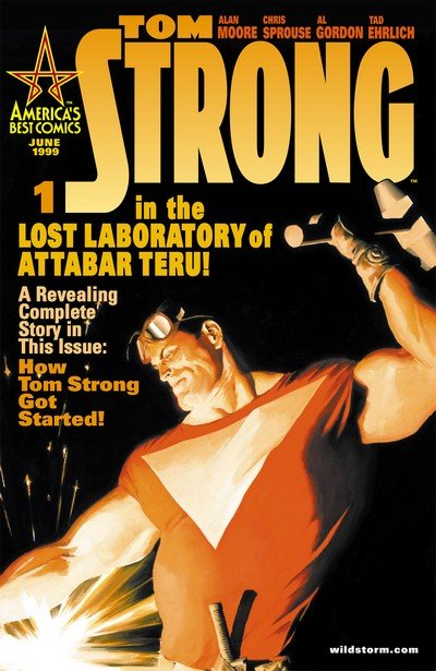 Tom Strong #1 – 36 (1999-2006)