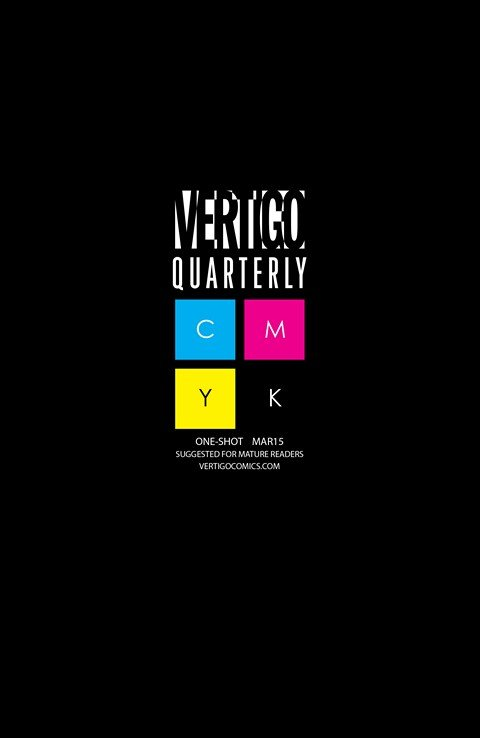 Vertigo Quarterly – CMYK #1 – 4