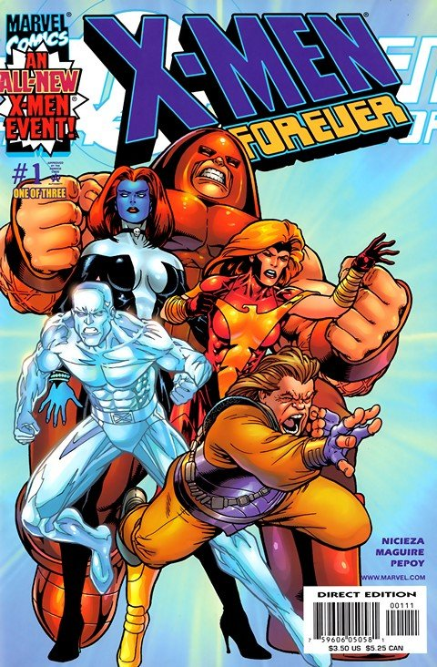 X-Men Forever #1 – 6