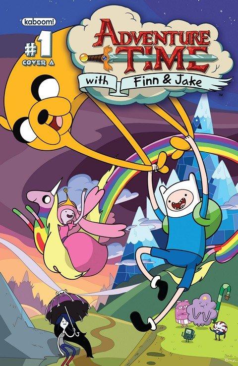 Adventure Time #1 – 55 + TPB Vol. 1 – 6 + Extras & Specials