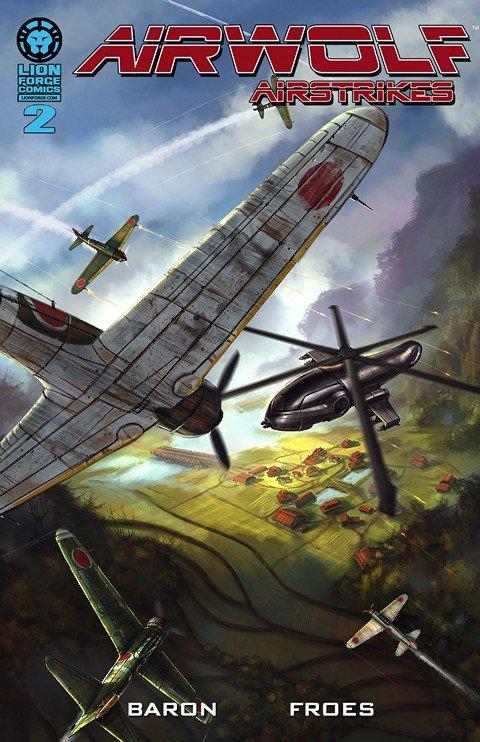 Airwolf Airstrikes #2 – Army of Quah