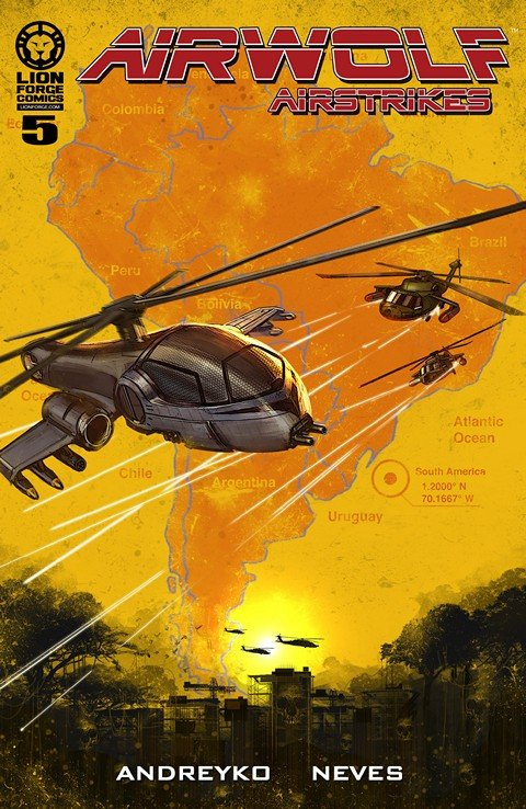Airwolf Airstrikes – Smash and Grab #5