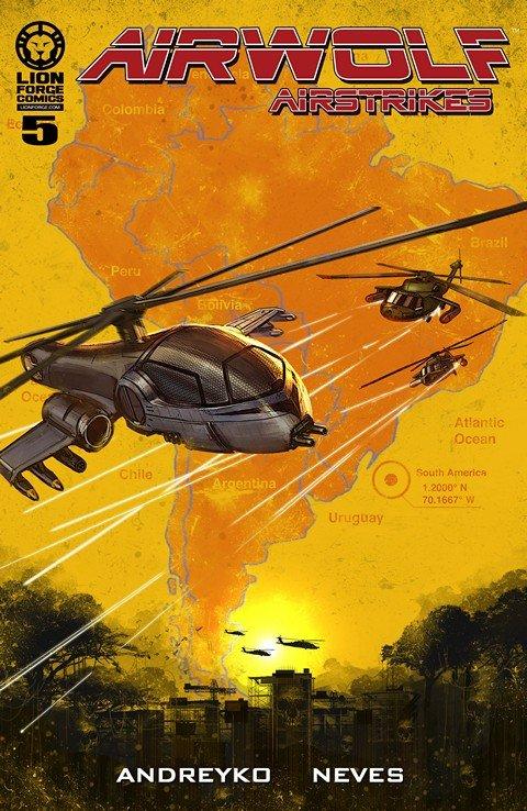 Airwolf Airstrikes – Smash and Grab #5