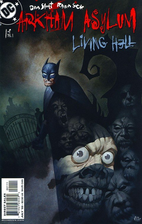 Arkham Asylum – Living Hell #1 – 6